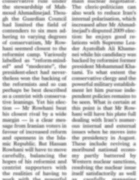Newspaper Column 1