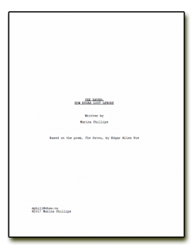 The Raven: How Edgar Lost Lenore Screenplay